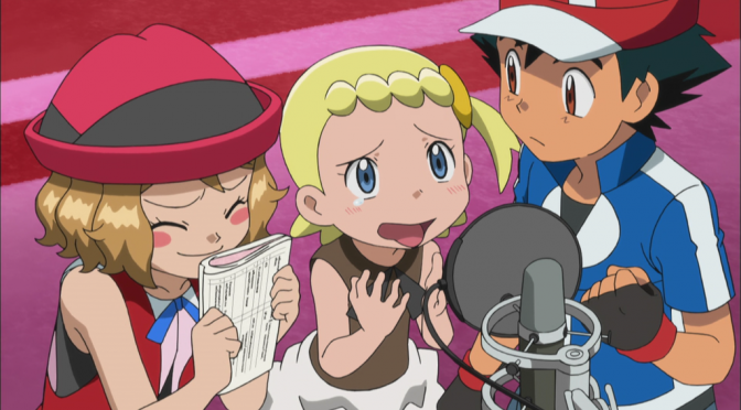 Ash's Voice Actors